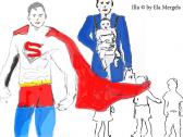 Supermann und Erziehung