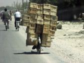 Gepäck transportieren